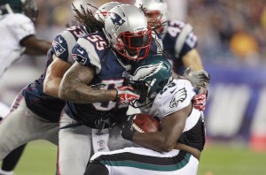 Brandon Spikes, LeSean McCoy