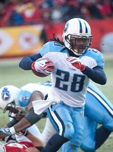 Chris Johnson becomes so much more important to the Titans chances, with Locker sidelined.