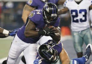 Can rookie RB Lorenzo Taliaferro step up for a tiring Justin Forsett