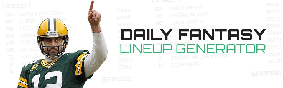 daily fantasy lineup generator from fanspeak.com