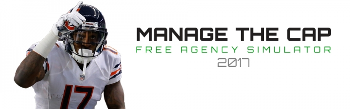 Fanspeak's Manage The Cap - Be your team's GM and navigate your team through NFL free agency