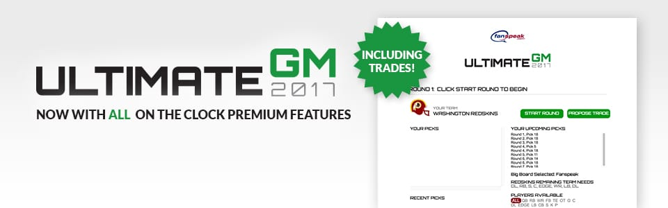 Ultimate GM now has ALL the features of On The Clock Premium including trades