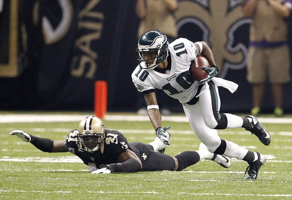 DeSean Jackson was a stud in the Eagles' high powered offense, he is a huge addition to Washington's offense.