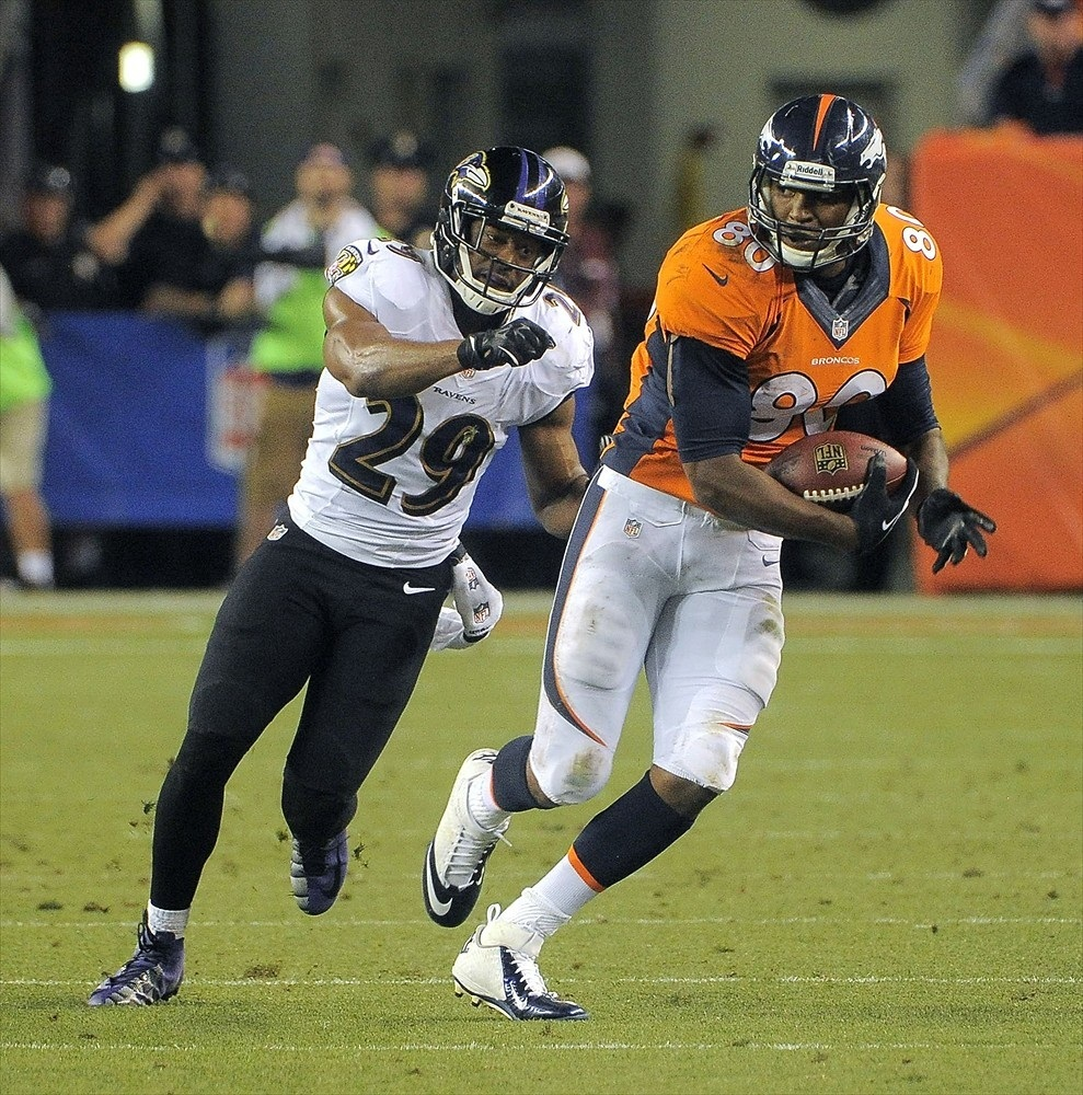 Owners must expect a decrease in production from Julius Thomas this season, but he is still going to be great for a long time.