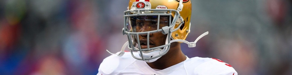 November 16, 2014: San Francisco 49ers outside linebacker Aldon Smith (99) prior to a NFL game between the San Francisco 49ers and the New York Giants at MetLife Stadium in East Rutherford, NJ The 49ers defeated the Giants 16-10