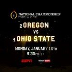 College Football National Championship Preview: (2) Oregon vs.  (4) Ohio State