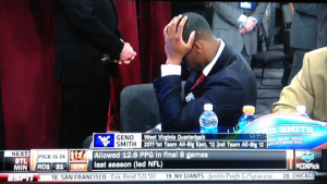 geno smith reaction