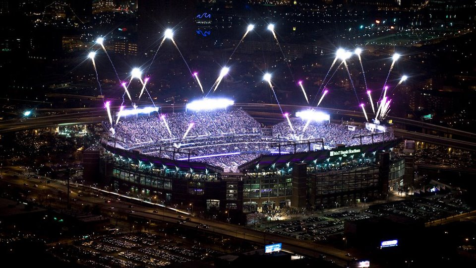 M&T Bank Stadium was one of the first of 12 new stadiums
