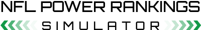 NFL Power Rankings Simulator