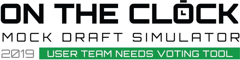 On the Clock - Mock Draft Simulator Team Needs Voting Tool
